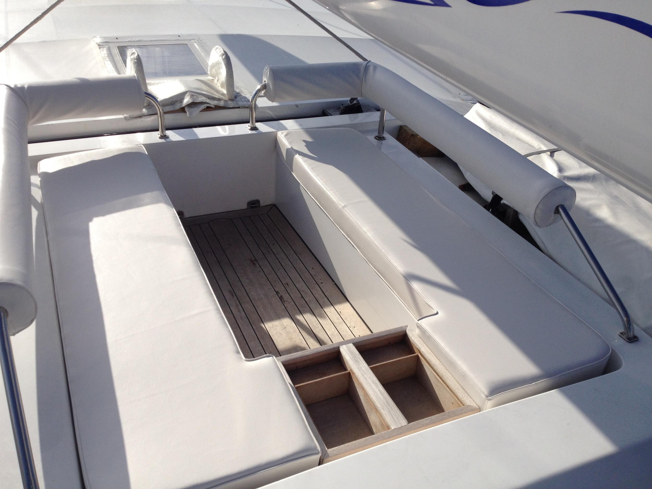 Boat Upholstery Yacht Cushions Rhode Island Maloney Interiors SeaQuell.JPG