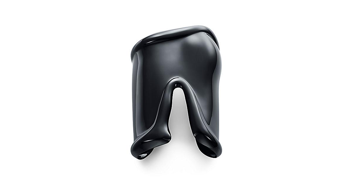 Elsa Peretti Black Bone Cuff 2.jpg