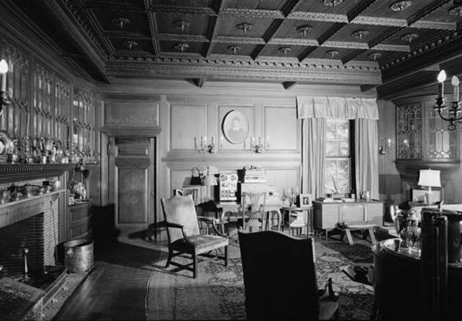 1969 View of the Dining Room