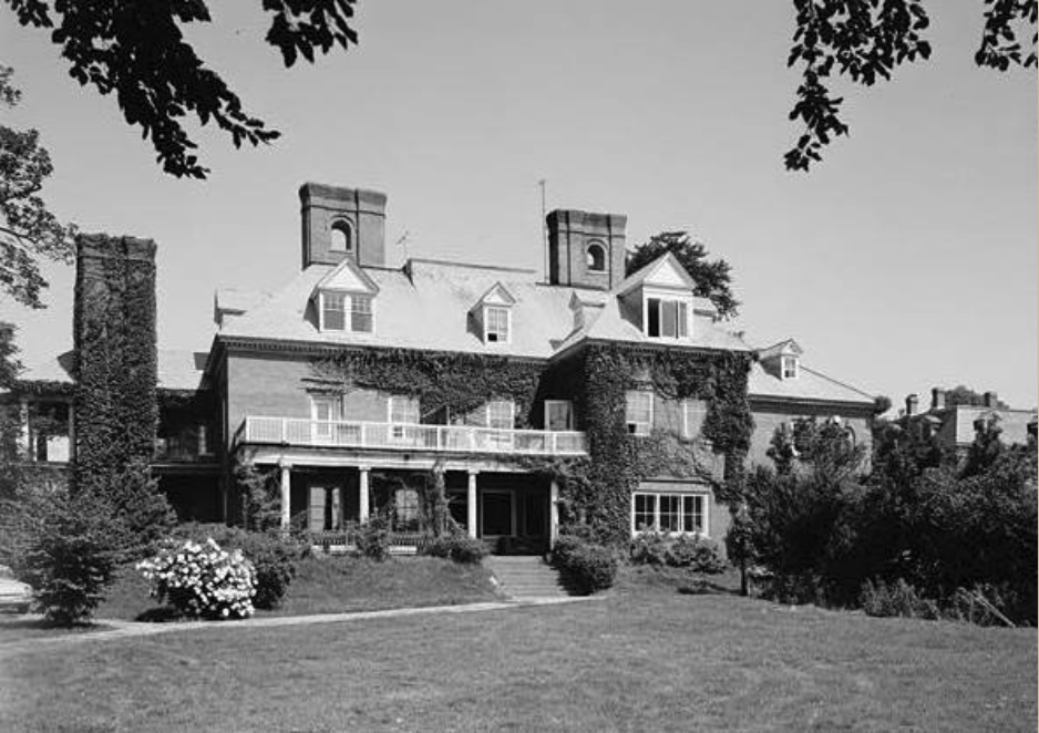 1969 View of South Rear
