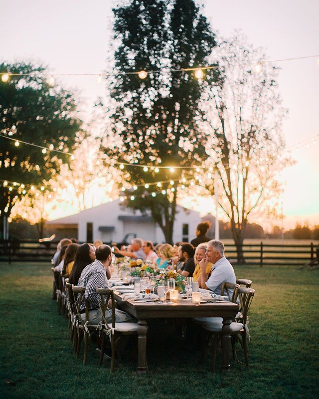 Had the most beautiful dinner last night put on by @anobleeventsanddesign at @highrockfarms . Locally sourced food, wine pairings, beautiful atmosphere, perfect weather, countryside tranquility... yes please. Cannot wait to see all of the big things in store for this dream team!