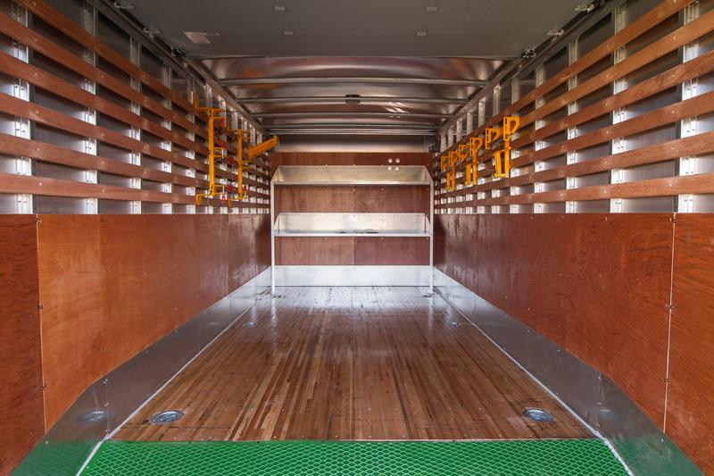 Inside Lawn Truck Box