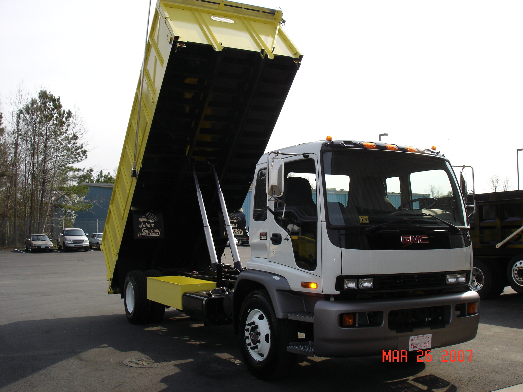 Available Dump Body for New Kenworth K270 and Kenworth K370