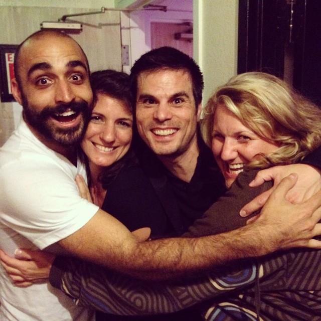 Sky, Shannon, Pablo & me