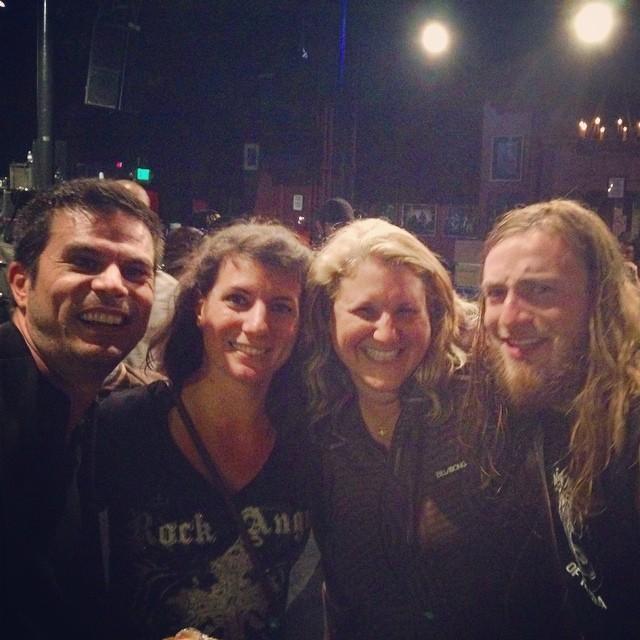 Pablo, Shannon, me & Alex