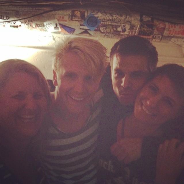 Me, Eric, Pablo & Shannon