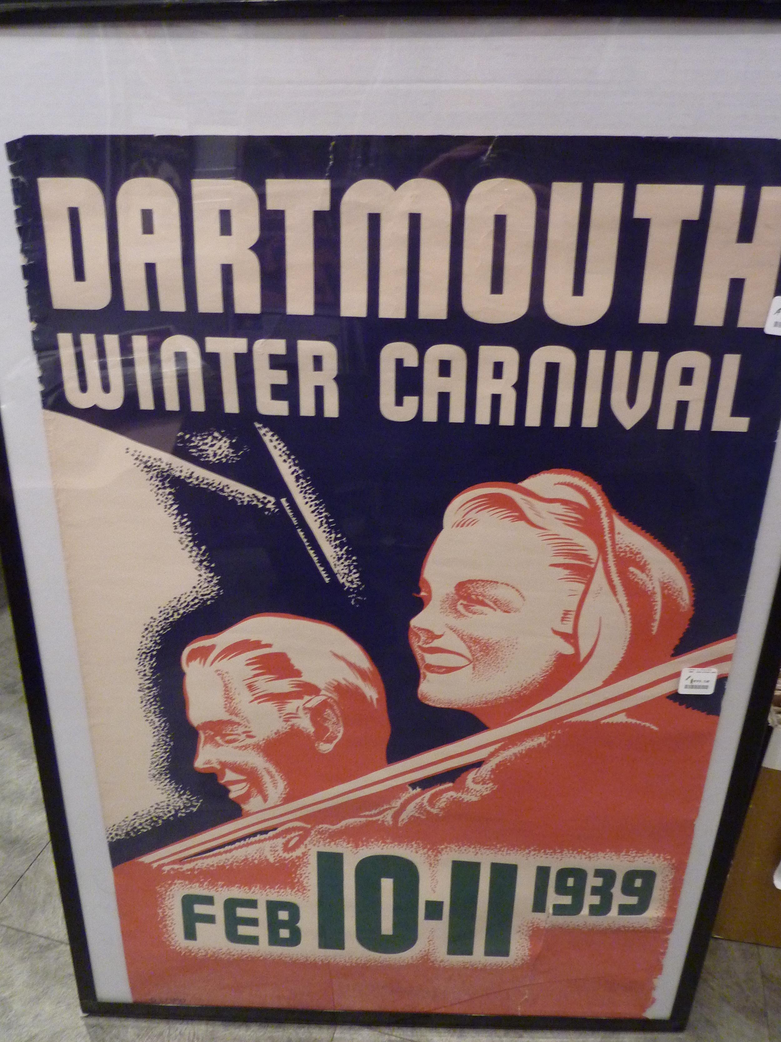 Dartmouth Winter Carnival 1939 (orange)