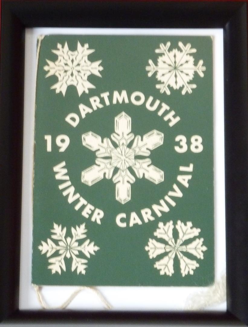 Dartmouth Winter Carnival Program (1938)