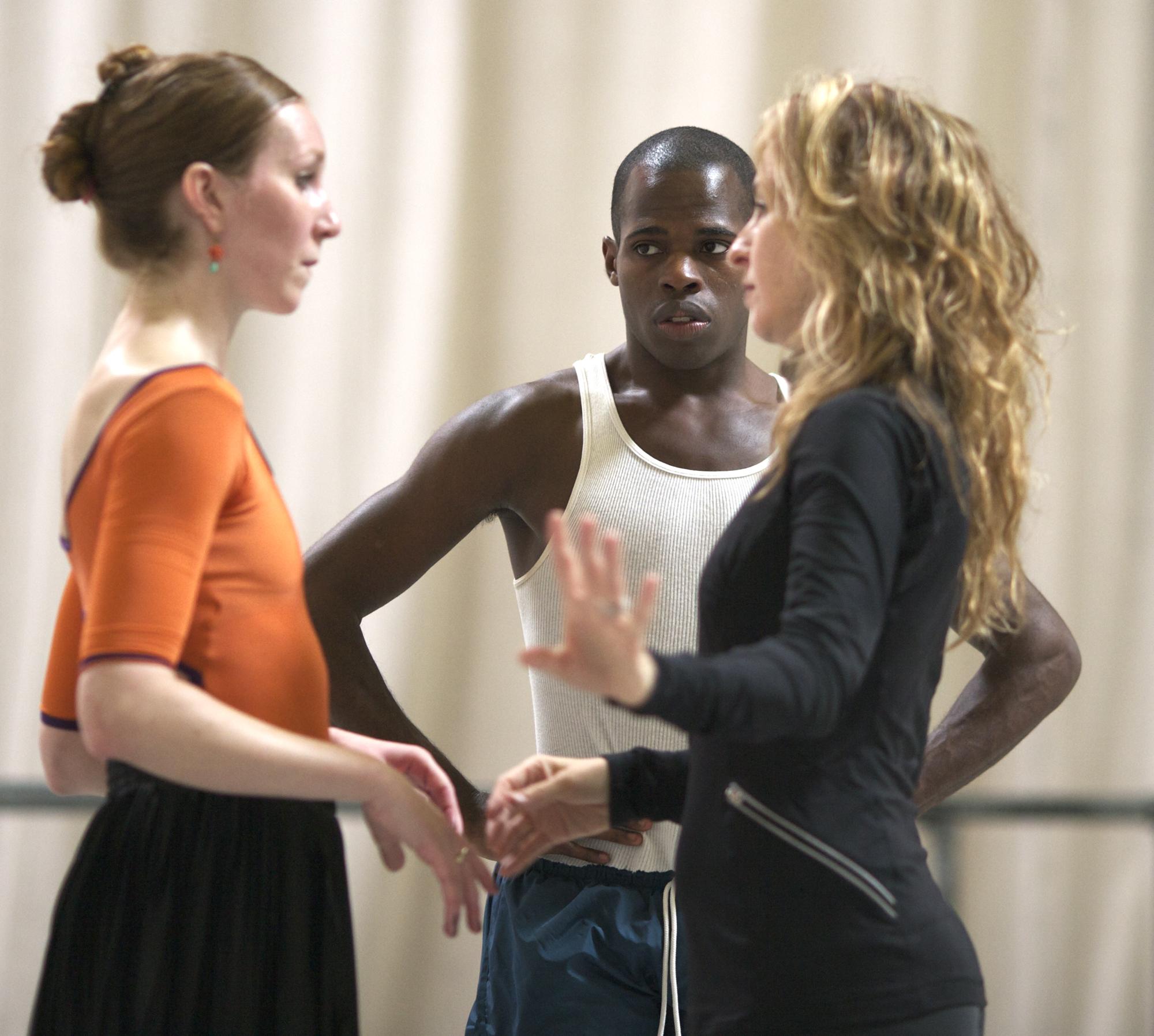 Colony  (in rehearsal) | NextWave LA | LA Ballet    photo: Erich Koyama