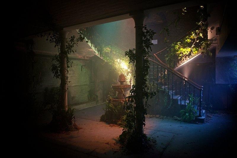 wandering the venue    laura marling | secret cinema |London