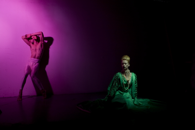 hysterica dance co. | photo: eliot lee  hazel | styled by: ryan heffington | dancers: denna thomsen and austin westbay