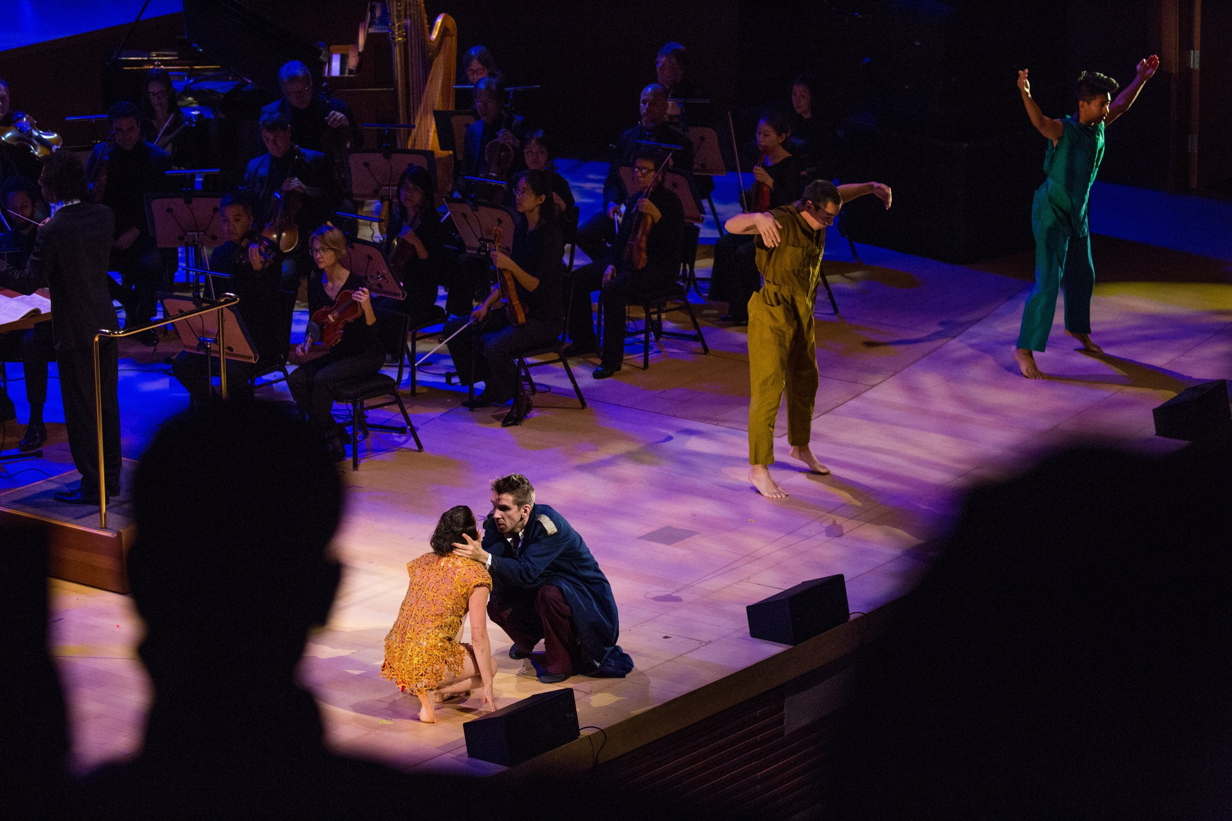 Firebird  | LA Phil | Disney Hall    Director | Choreographer    photo: Paul Cressey