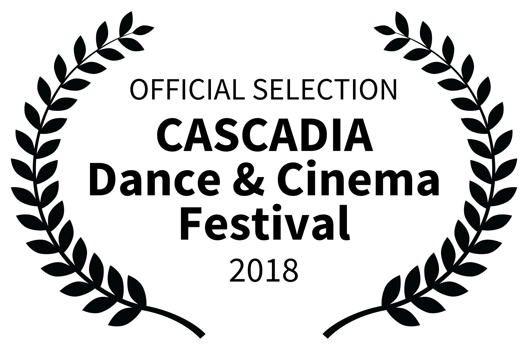 OFFICIAL SELECTION - CASCADIA Dance  Cinema Festival - 2018.png