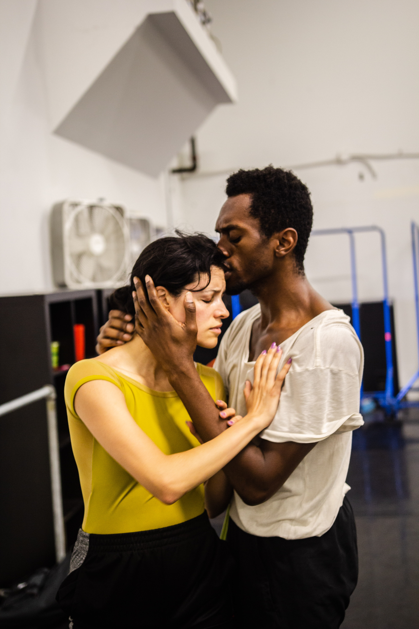 Dancers: Jessica Gadzinski and Raymond Ejiofor  Photo by: Frederick Diaz