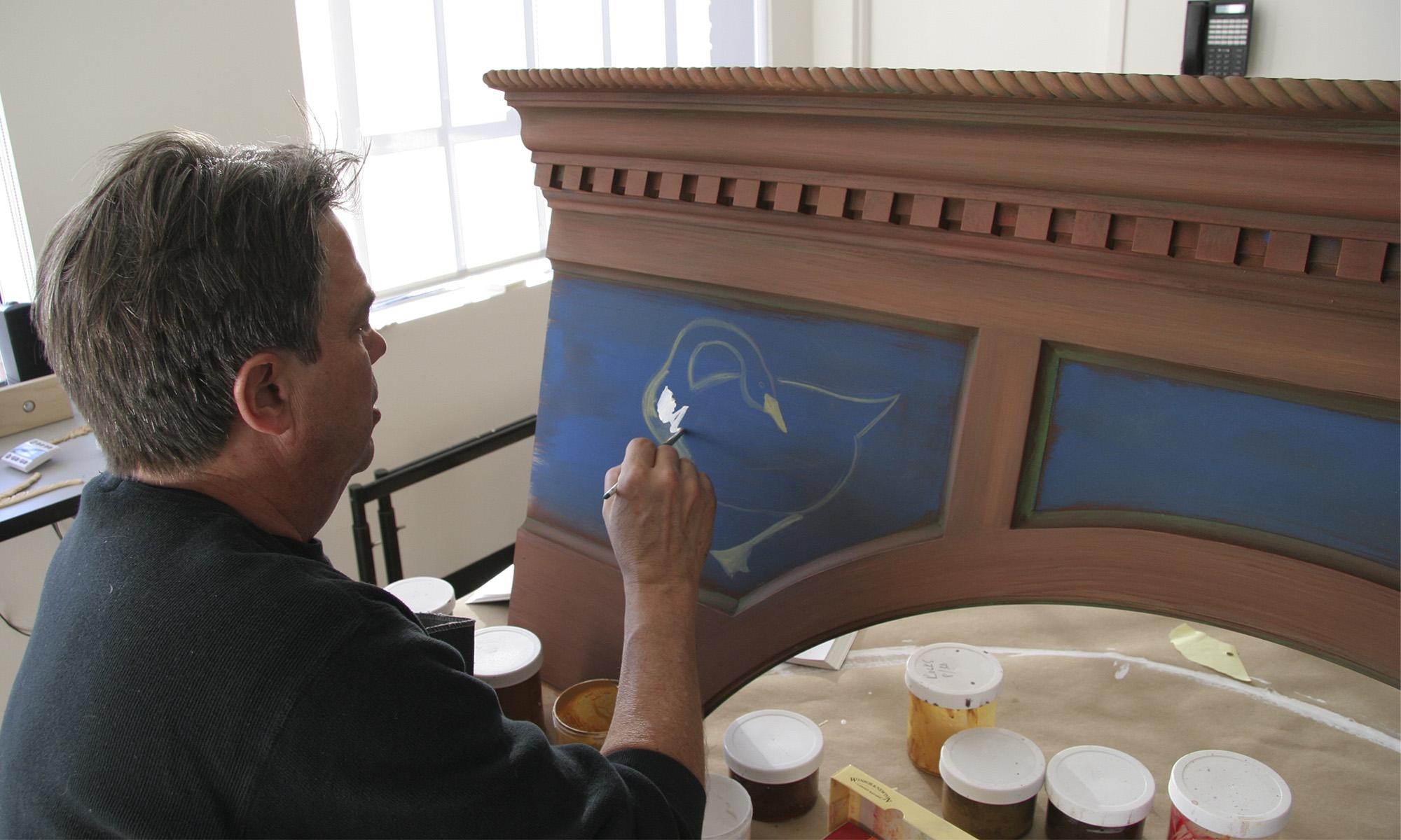 Artist Michael Lokensgaard