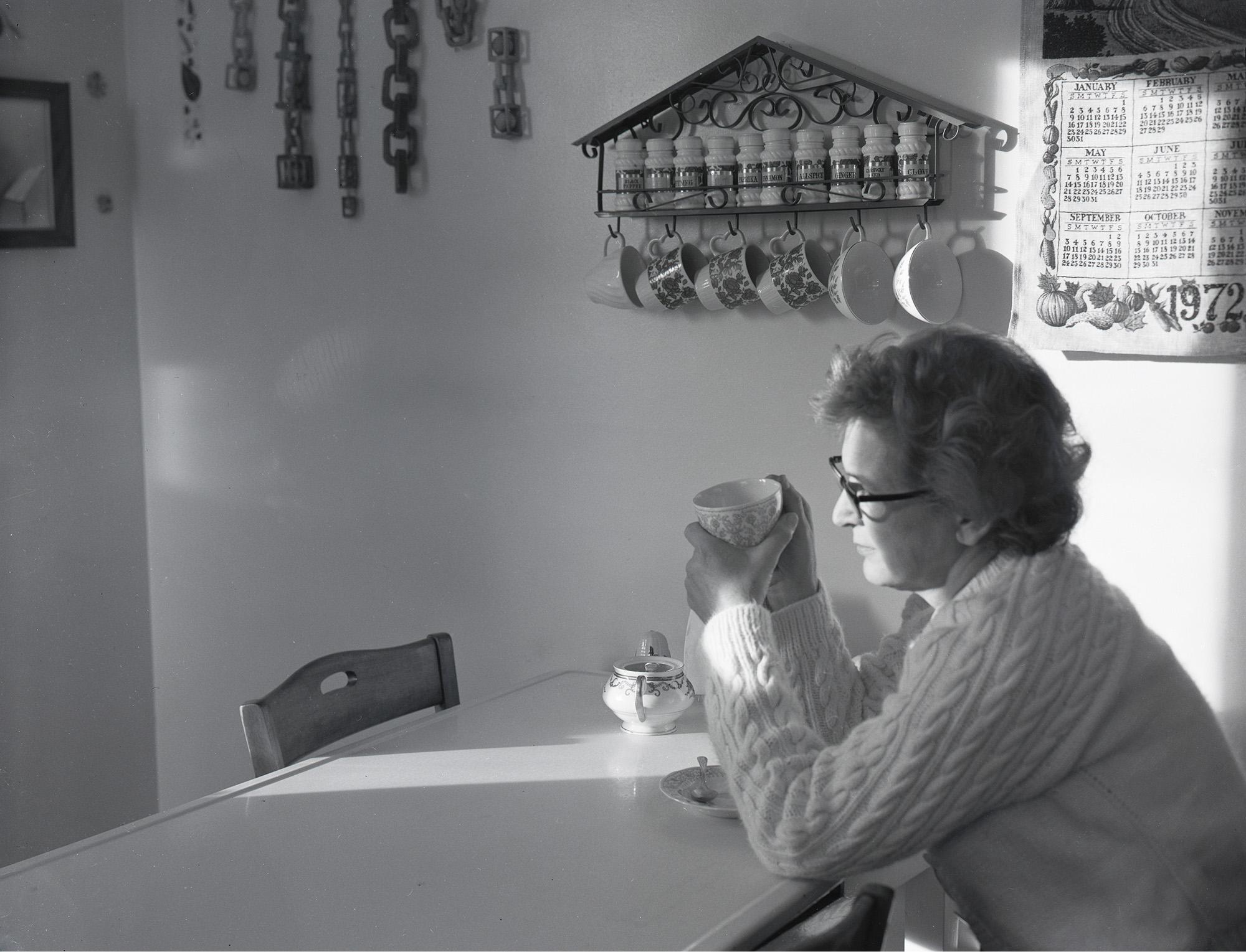 Betty Wick, January, 1972