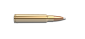 338 Winchester Magnum Rifle Cartridge