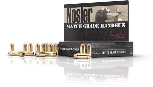 Match Grade Handgun Ammunition Banner