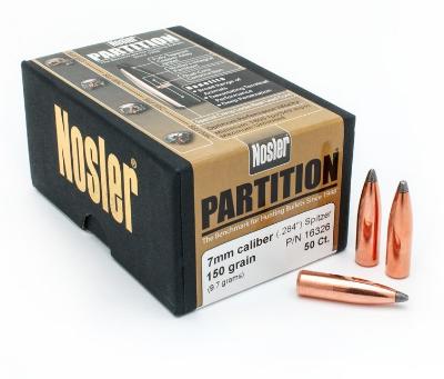 7mm Partion 160 Grain Bullets