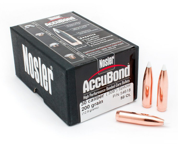 30 Caliber 200 Grain AccuBond