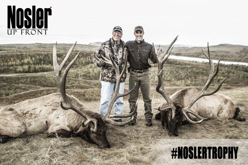 Elk Hunting Trophy Photo