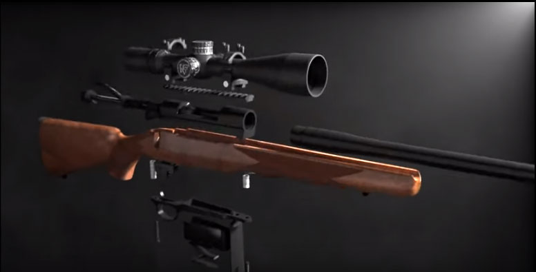 Custom Rifle Builder Extracted Image