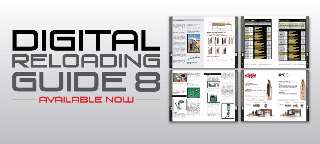 Digital Reloading Guide 8 Banner