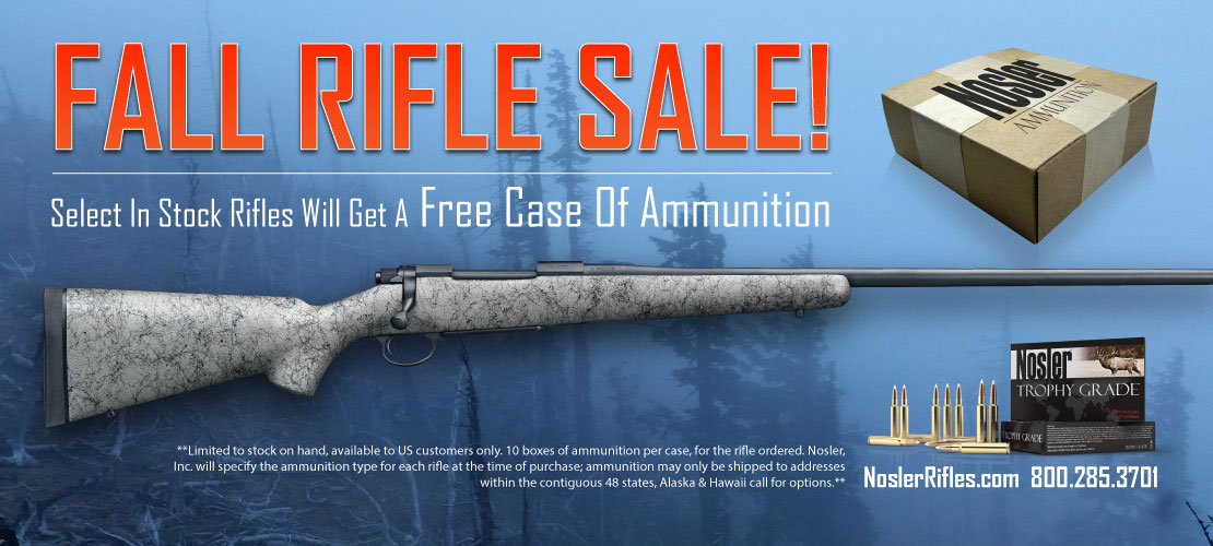 Fall Rifle Sale Banner