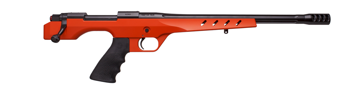 BBL/Action: Graphite Black H-146  Stock: Hunter Orange H-128