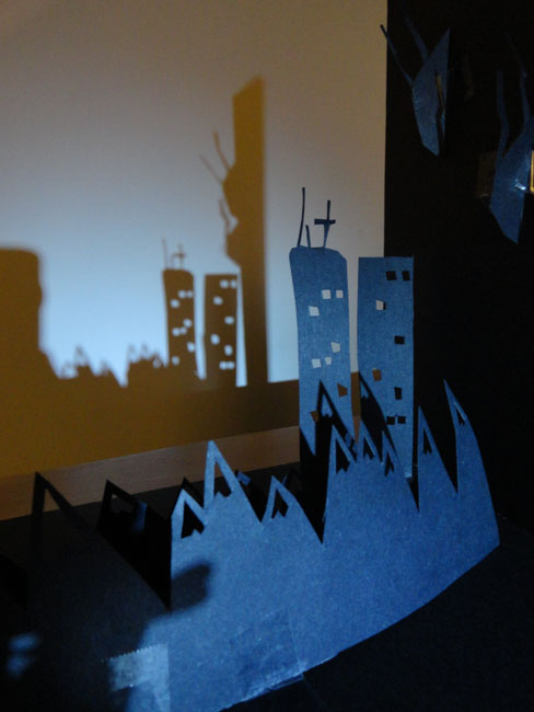 """A """"Shadow Machines"""" project, in which the shadows were the final product."""