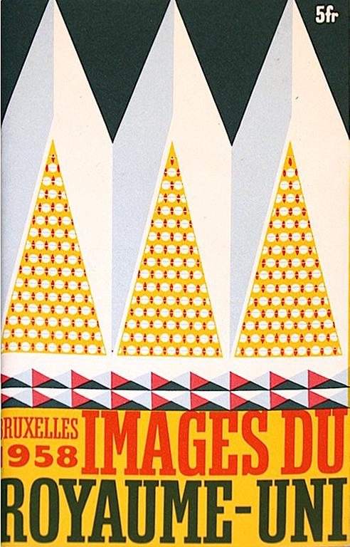 Brochure for the British pavillion at the 1958 Brussels Expo (home of the Atomium)