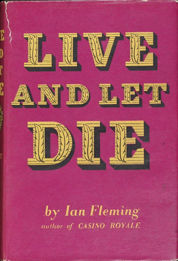 Live and Let Die by Ian Fleming 1954 first edition