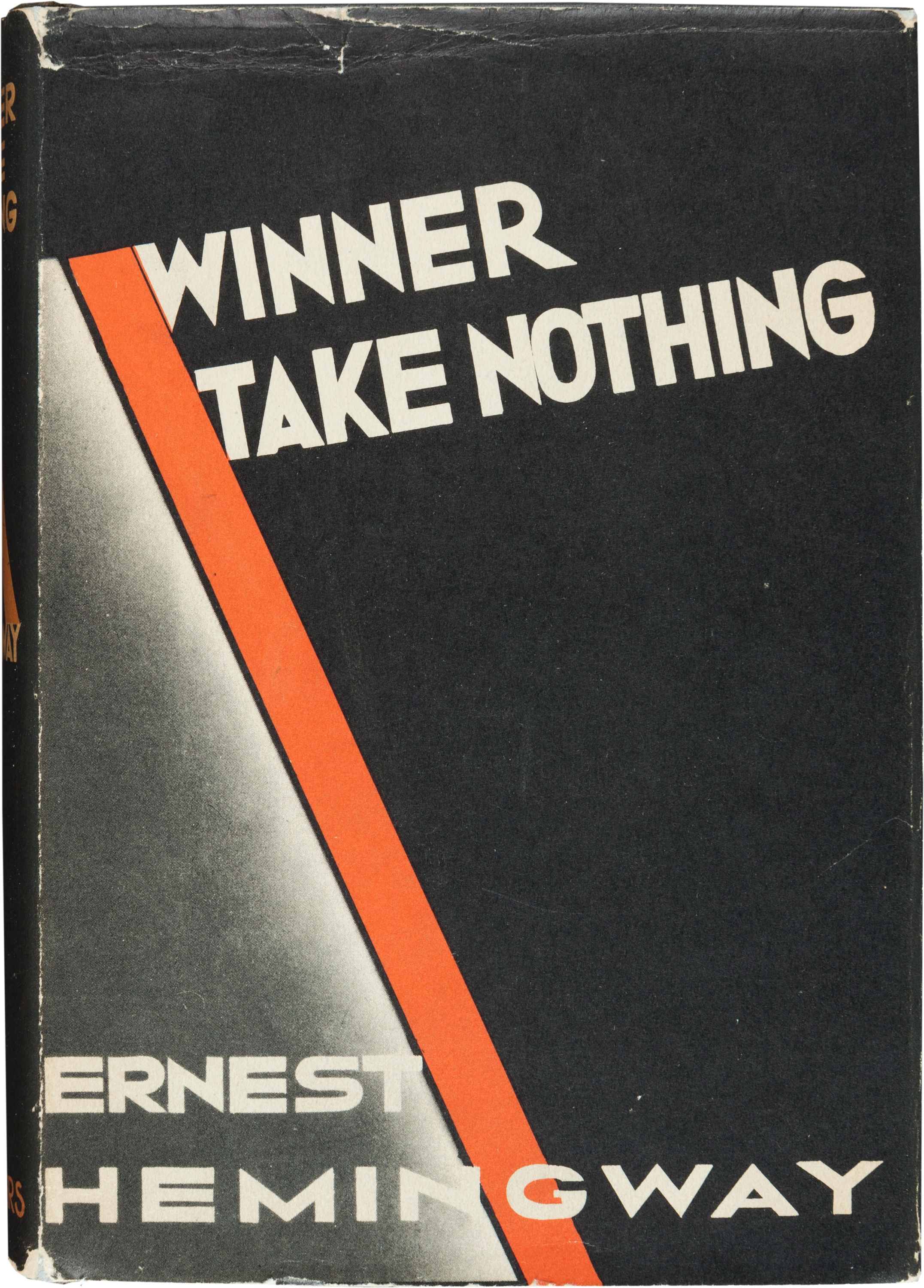 Winner Take Nothing. New York: 1933. First edition.