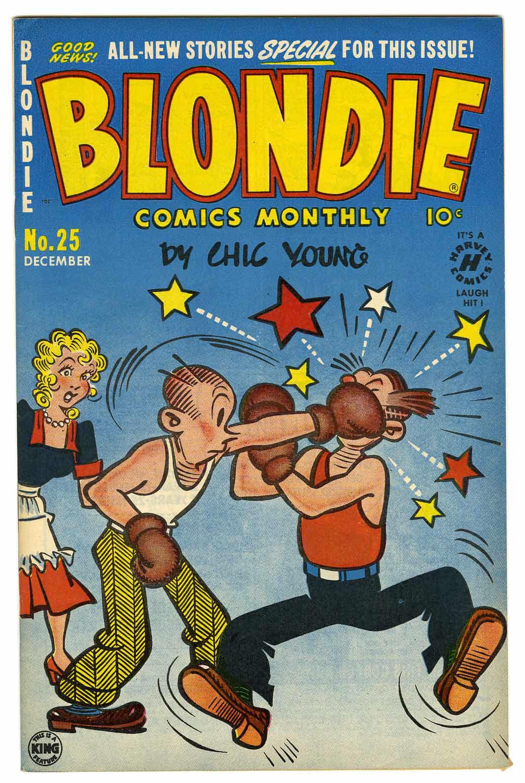 Blondie Comics #25 File Copy (Harvey, 1950)
