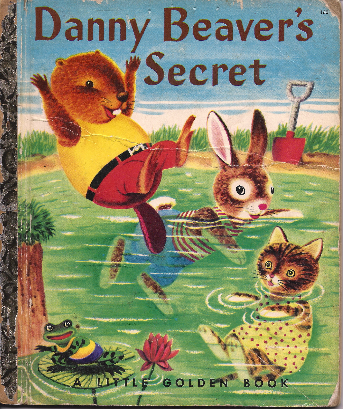 "This is a first edition  of ""Daniel Beaver's Secret""  by Patsy Scarry & illustrated by her husband Richard 1953. via  ebay"