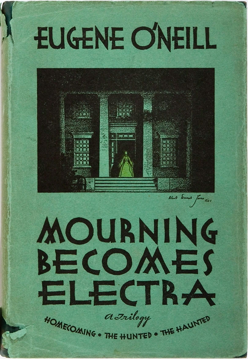 Eugene O'Neill. Mourning Becomes Electra. A Trilogy. Horace Liveright, 1931. First edition. Sold! for $30.