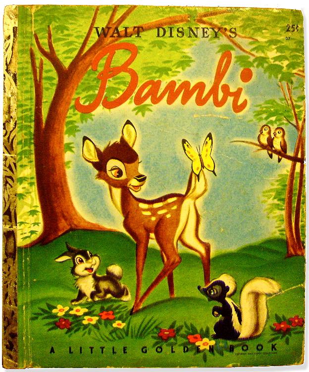 Disney Little Golden Book 1948