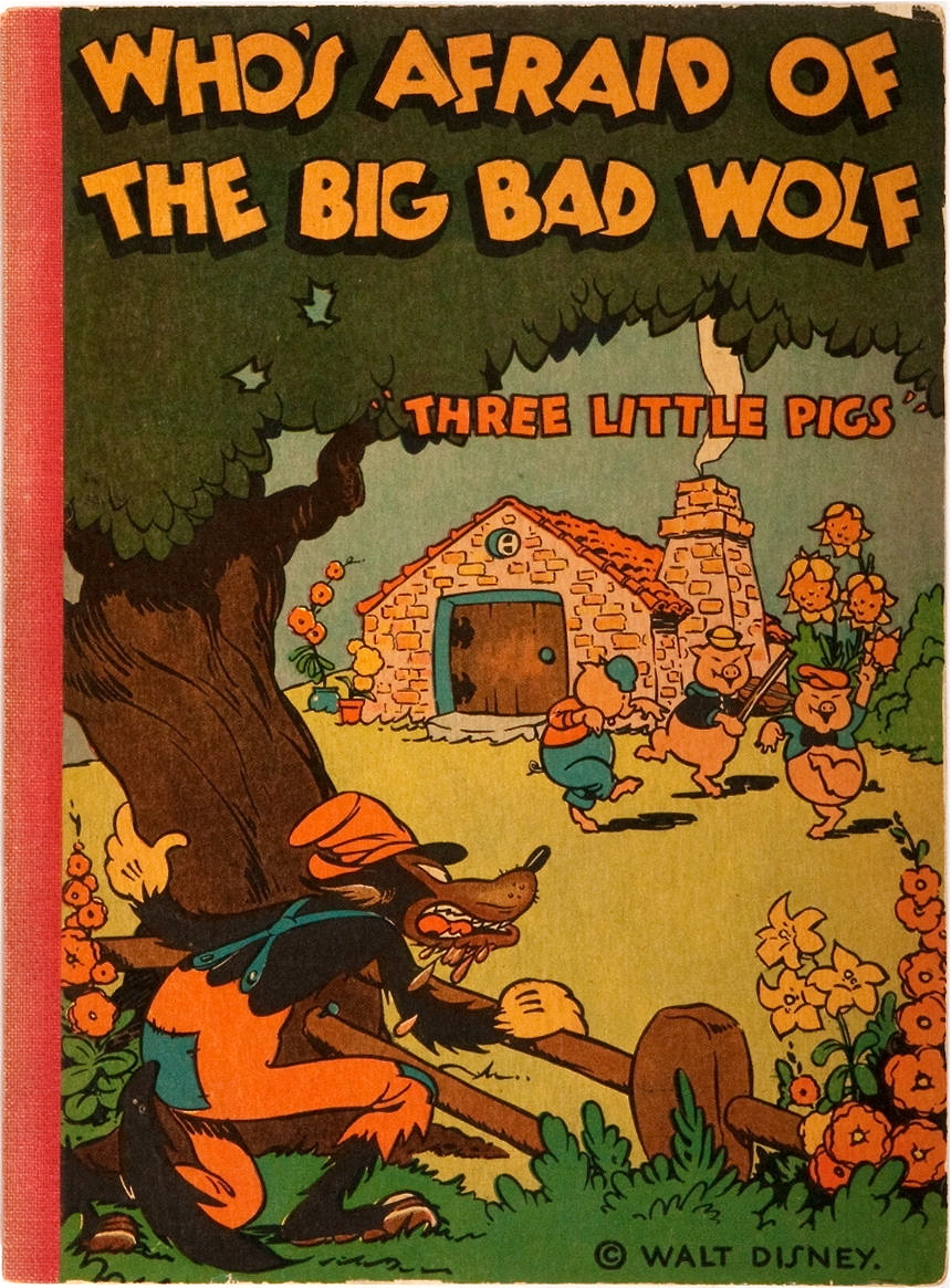 [Walt Disney]. Who's Afraid of the Big Bad Wolf. McKay, 1933. via  Heritage Auctions