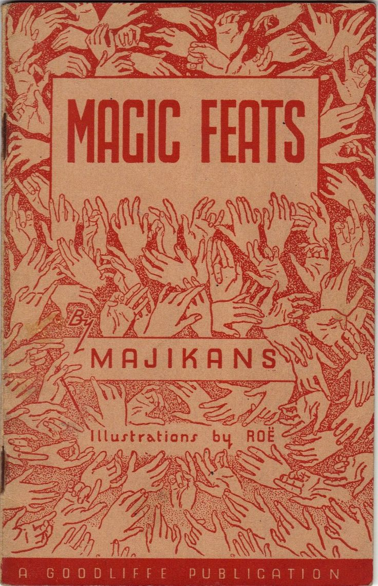Magic Feats by Majikans - A Miscellany of Practical Magic, 1948 via  What floats my boat