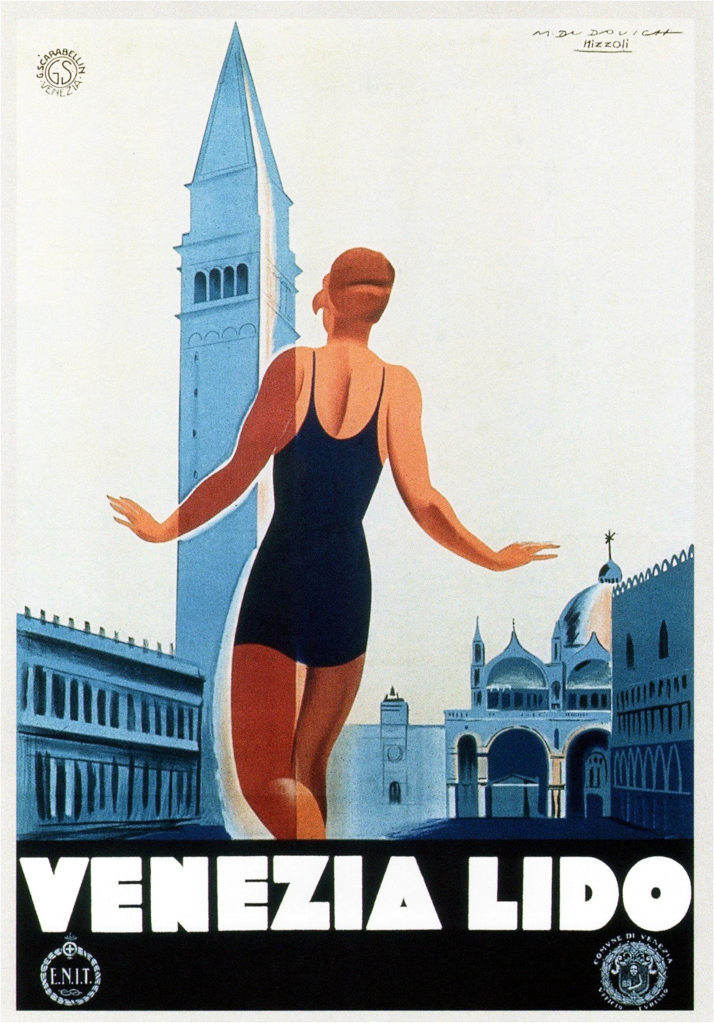 Venezia Lido. 1930 via  flickr