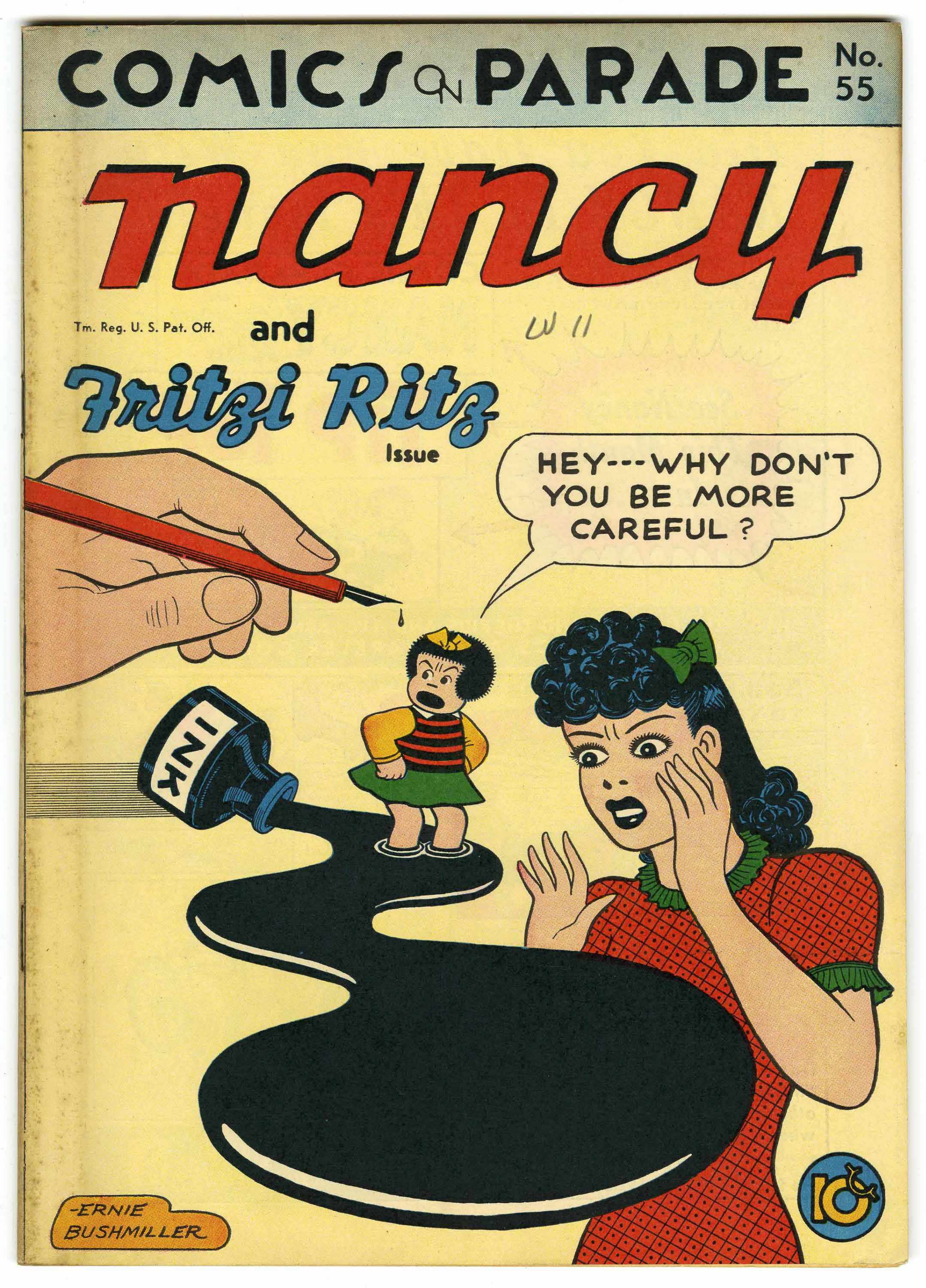 Comics On Parade #55 Nancy and Fritzi Ritz 1946