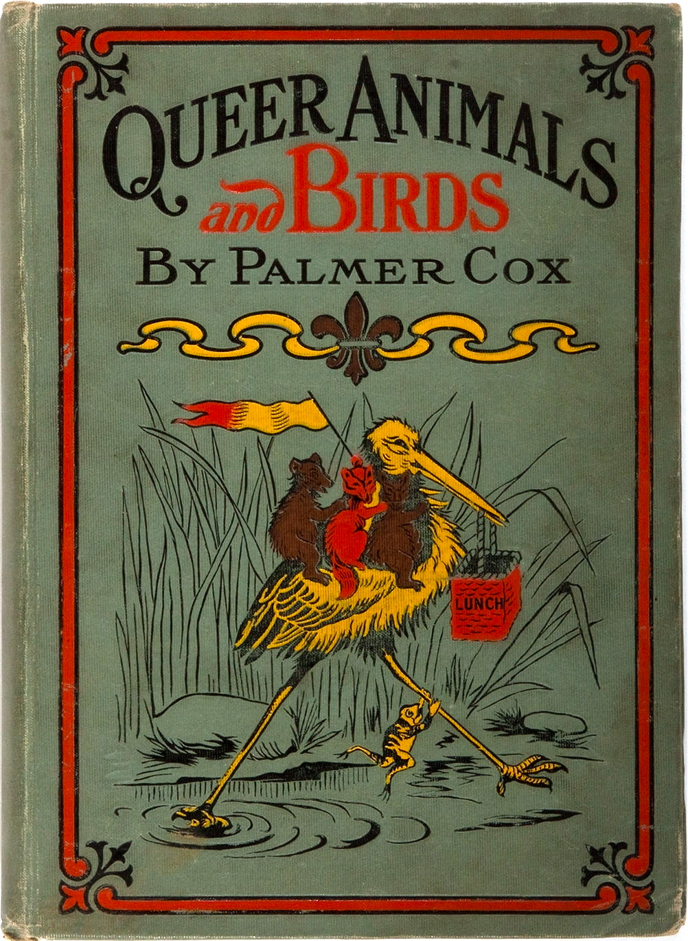 Who knew? Palmer Cox , illustrator. Fry, 1904. From the Collection of Judith Adelman.
