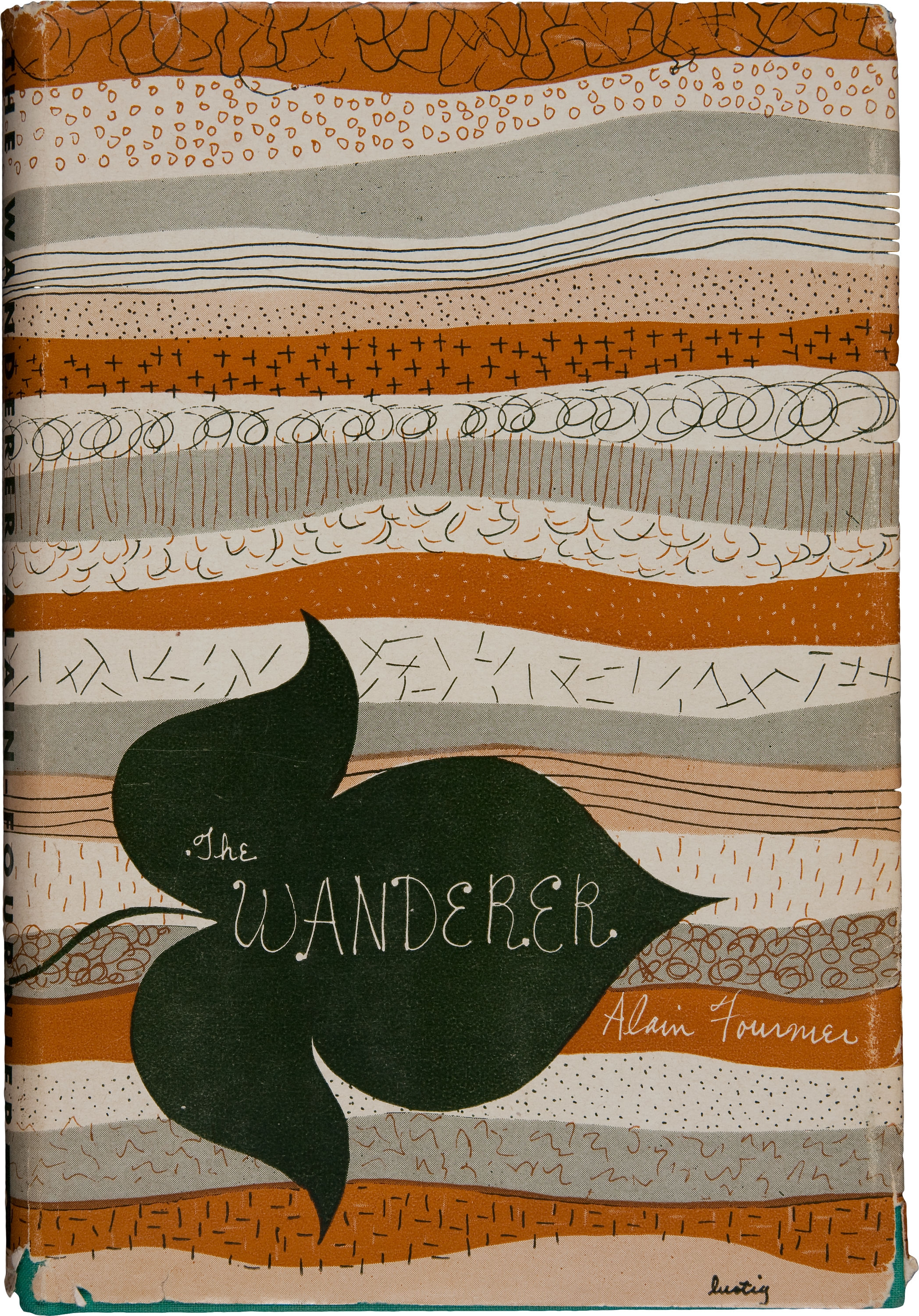Alain-Fournier. The Wanderer (Le Grand Meaulnes). [New York: New Directions Books, 1946].