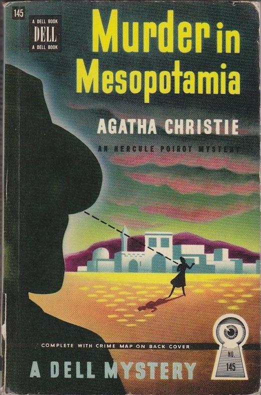 Murder in Mesopotamia by Agatha Christie 1947 via  ebay