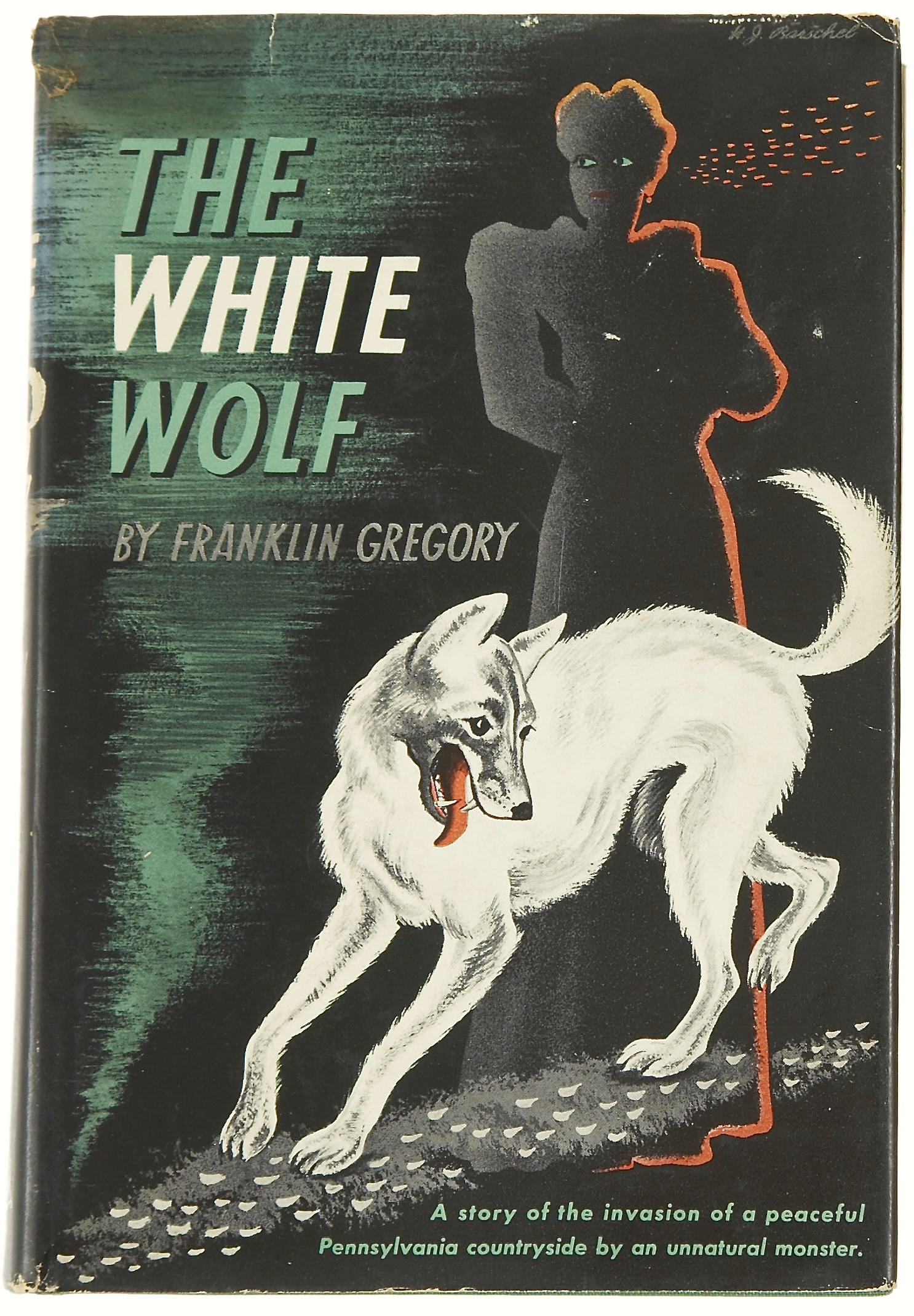 Franklin Gregory. The White Wolf. New York: Random House, [1941]. First printing.