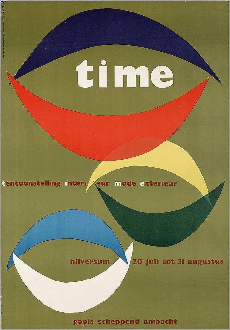 Tentoonstelling Interieur Mode Exterieur. Time. Hilversum Goois scheppend ambacht 1958