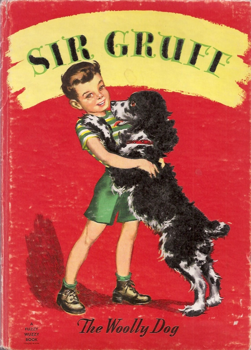 Sir Gruff, The Woolly Dog 1947 via  Etsy