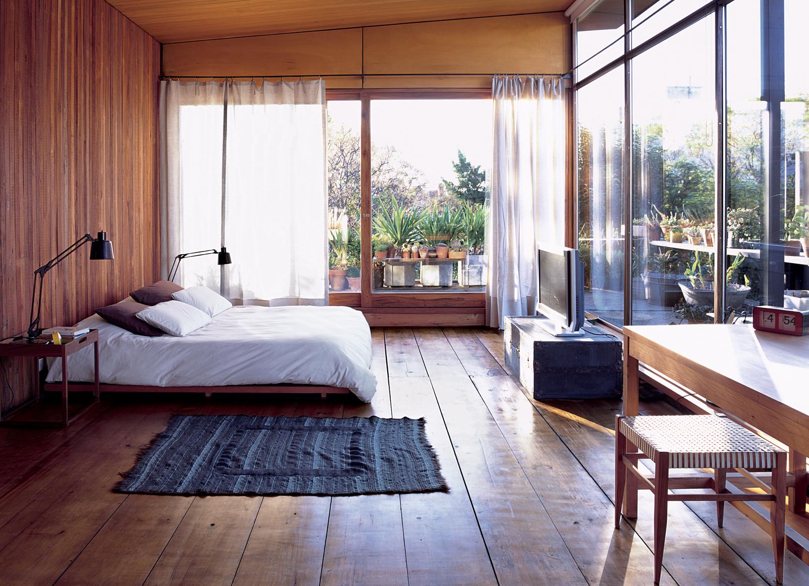 Sticottimaster bedroom. Photo by Cristóbal Palma.