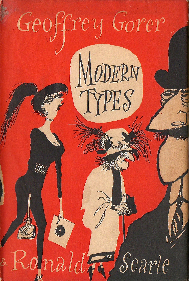 Modern Types by Geoffrey Gorer and Ronald Searle 1955 via  magalerieaparis.wordpress.com