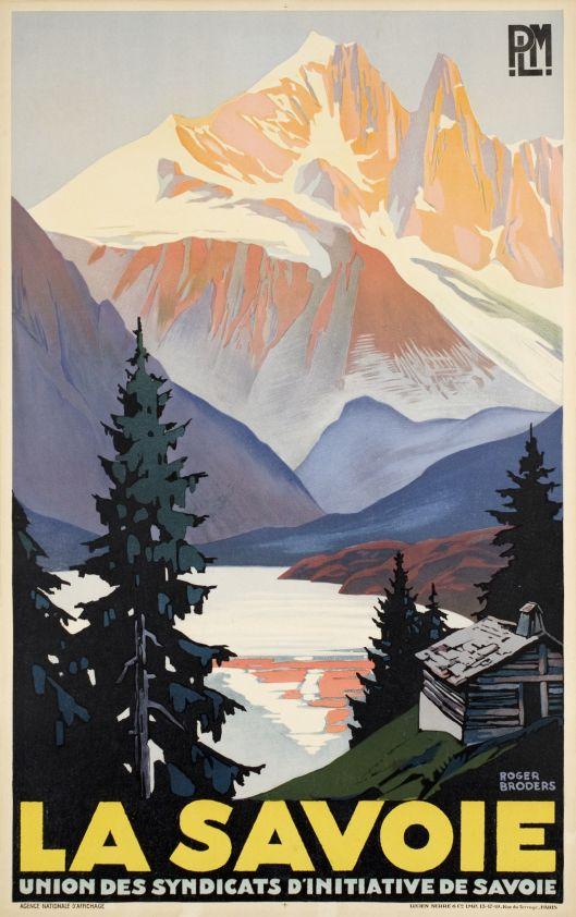 La savoie | Roger Broders 1930  via